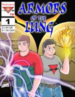 ARMORS OF THE LUNG - Colored, anime - style comic. Genre: Light Action/Adventure